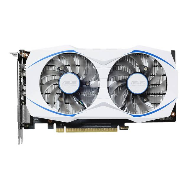 Asus NVIDIA GeForce GTX 1050 TI 4GB GDDR5 DVI/HDMI/DisplayPort pci-e Video 12