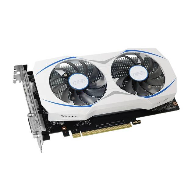Asus NVIDIA GeForce GTX 1050 TI 4GB GDDR5 DVI/HDMI/DisplayPort pci-e Video 13