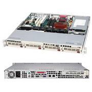 Supermicro CSE-813MTQ-520CB 520W 1U Rackmount Server Chassis (Black)