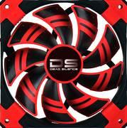 AeroCool Dead Silence 120mm Red Case Fan