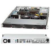 Supermicro SuperServer SYS-6017R-TDF Dual LGA2011 Xeon 440W/480W 1U Server Barebone System (Black)
